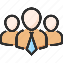hr, human, leader, people, resources, team icon
