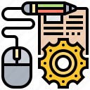 description, design, edit, information, job