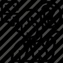 center, contact, employee, help, services icon