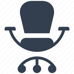 armchair, business, chair, human, manager, office, resource, seat, strategy icon