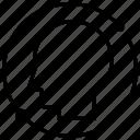 arrow, head, loop, refresh, sync icon