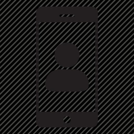 avatar, female, login, mobile, person, user, woman icon
