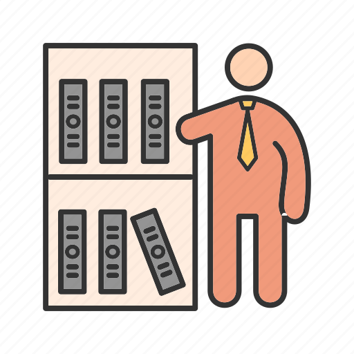 business, document, file, folder, management, office, work icon