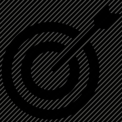 Aim, bullseye, focus, goal, target icon - Download on Iconfinder