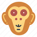 animal, mammal, monkey, wildlife icon