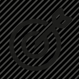 circle, cross, gun, hunting, sight icon