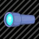cartoon, instrument, monocular, optical, scope, spyglass, tube
