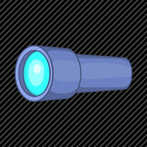 cartoon, instrument, monocular, optical, scope, spyglass, tube icon