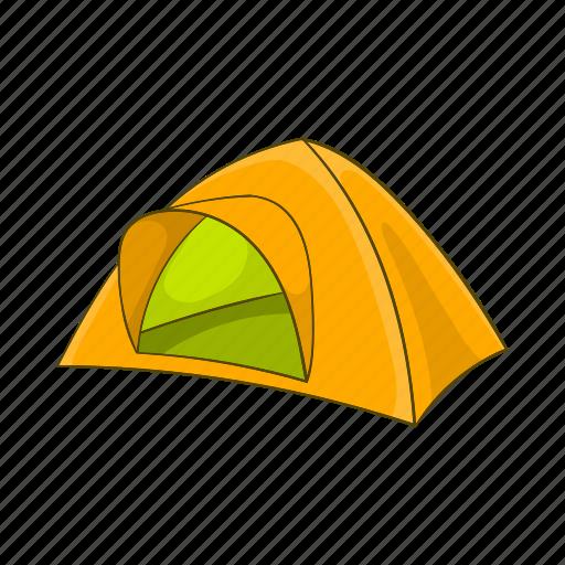 adventure, camp, cartoon, outdoor, tent, tourism, travel icon
