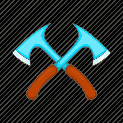 axe, cartoon, hunt, hunting, lumberjack, metal, tool icon