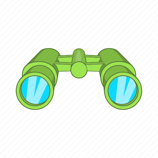 binocular, cartoon, hunt, military, vision, watch, zoom icon