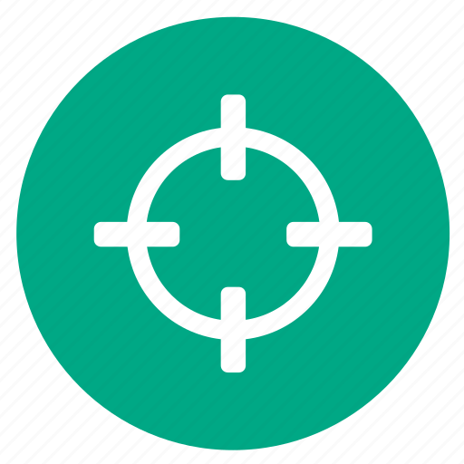 aim, focus, hunting, sniper, target icon