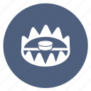 bait, catcher, hunting, noose, snare, trap, trapping icon