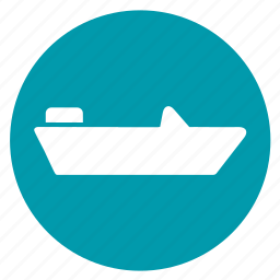 boat, ship, shipping, speed boat, vessel icon