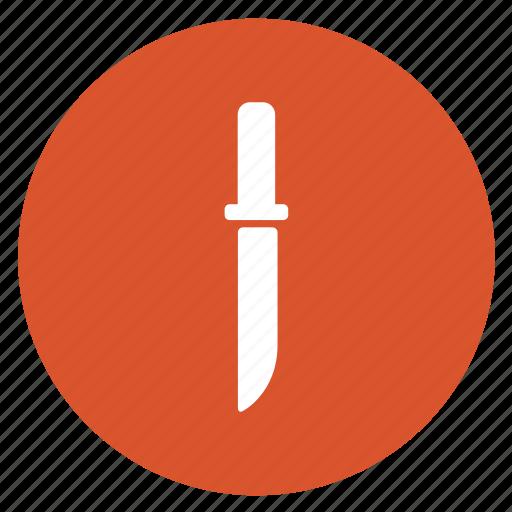 equipment, kitchen, knife, shiv, tools icon