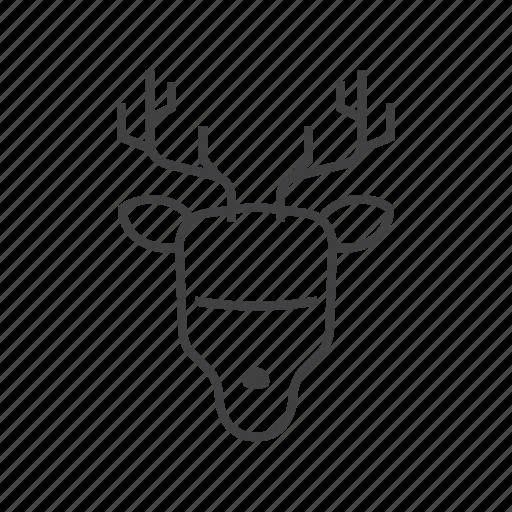 animal, deer, hunt, hunter, hunting icon