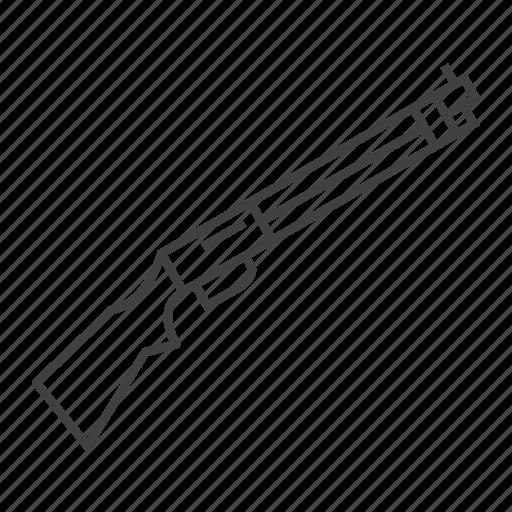 action, firearm, gun, hunting, pump, shotgun icon