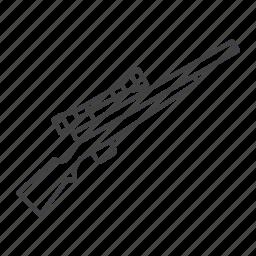 action, bolt, gun, hunting, shotgun, slug icon