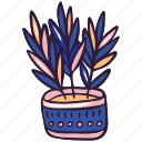doodle, houseplant, hygge, indoor, plant
