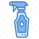bottle, cleaner, cleaning, glass, wiper