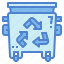 bin, ecology, garbage, plastic, recycling