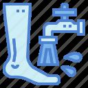 feet, hygiene, wash, washing, water
