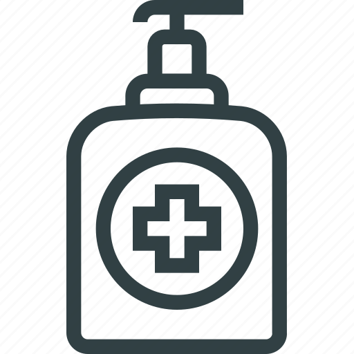 antiseptic, dispenser, soap icon