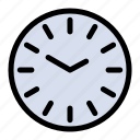 cleaning, clock, time icon
