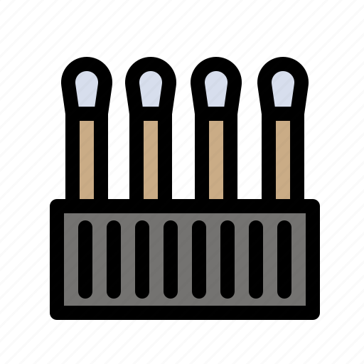 Beauty, buds, cosmetic, cotton icon - Download on Iconfinder