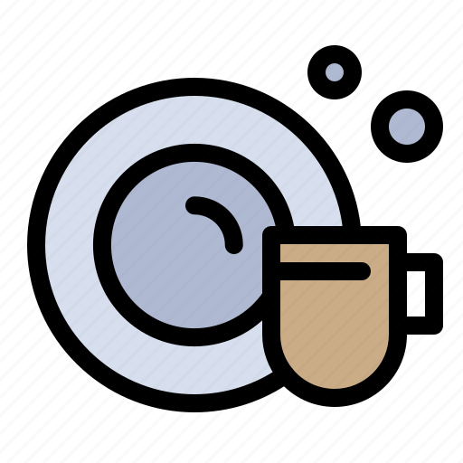Cleaning, cup, dish icon - Download on Iconfinder