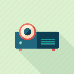 audio, device, projector, receiver, recorder, retro, video icon