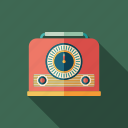audio, device, radio, receiver, recorder, retro, sound icon