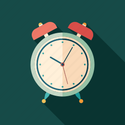 alarm, clock, rest, ring, sleep, up, wake icon