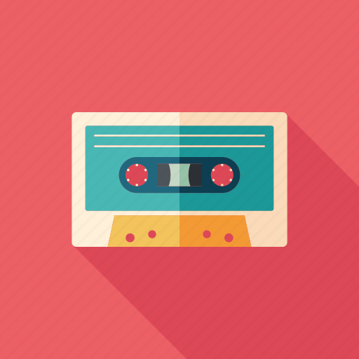audio, cassette, classic, information, music, retro, tape icon