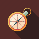 clock, compass, dial, mechanical, retro, time, watches icon