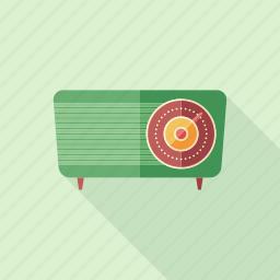 classic, device, radio, receiver, recorder, retro, vintage icon