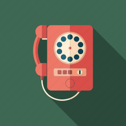 classic, device, dial, old, phone, retro, telephone icon