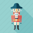 classic, man, mustache, nutcracker, retro, toy, vintage icon