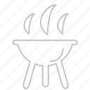 bbq, camp, coocking, food, garden, grill, hungry, kitchen, picnic icon