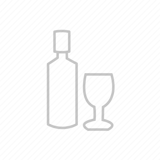 alcohol, bbq, bottle, coocking, drink, food, garden, glass, grill, hungry, kitchen, party, picnic, wine icon