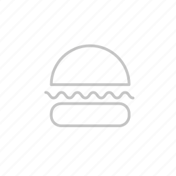bbq, beef, coocking, fast, food, garden, grill, hamburger, hotdog, hungry, junk, kitchen, party, picnic, sandwitch, sausage icon