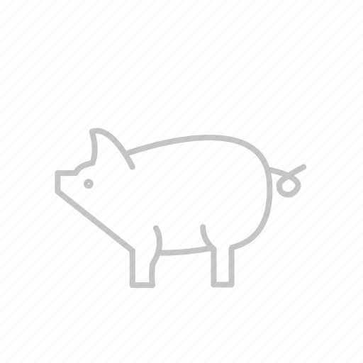 animal, bbq, coocking, food, garden, grill, hungry, kitchen, picnic, pig, poork, steak icon