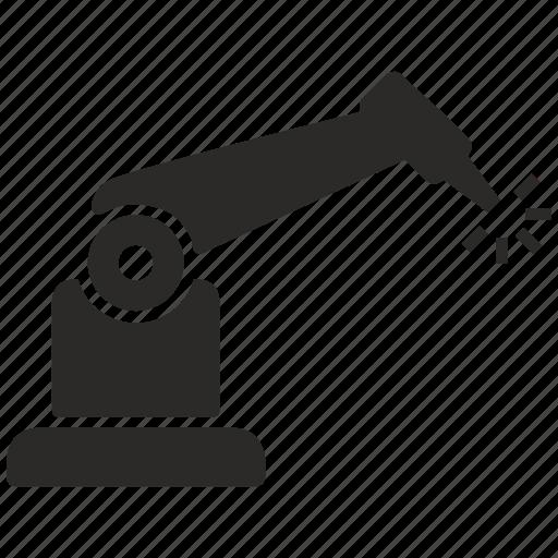 engraving, laser, manipulator, robot, robotic icon