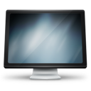 computer, screen, monitor icon