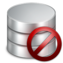 delete, database icon