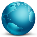 globe, connected icon