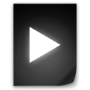 movie, file icon