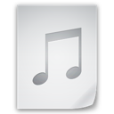 music, file icon