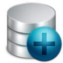 new, database icon