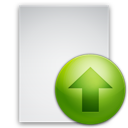 file, upload icon